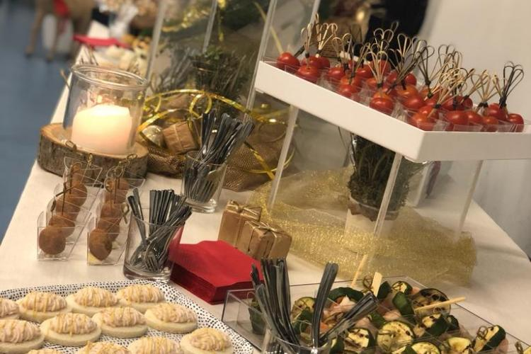Finger Food Backstage catering deluxe ticino lugano migliorcatering
